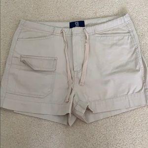 Cotton Khaki Shorts